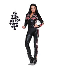 Dream Girl Women's Start Your Engines Costume