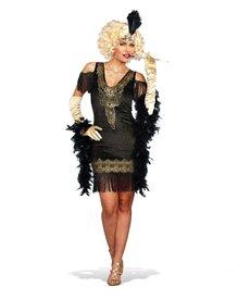 Dream Girl Women's Swanky Flapper Dress