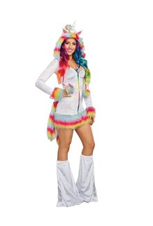 Dream Girl Adult Women's Unicorn Beauty Costume