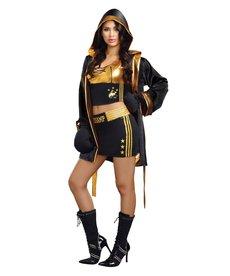Dream Girl Women's World Champion Boxing Costume
