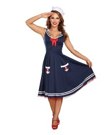 Dream Girl Women's All Aboard Costume