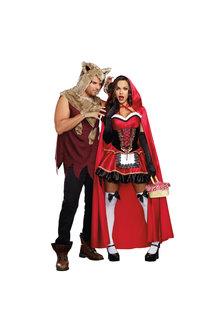 Dream Girl Adult Men's Big Bad Wolf Costume