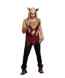 Dream Girl Adult Big Bad Wolf Costume (Dream Girl)