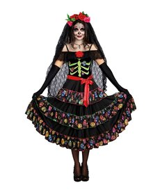 Dream Girl Women's Lady of the Dead Costume