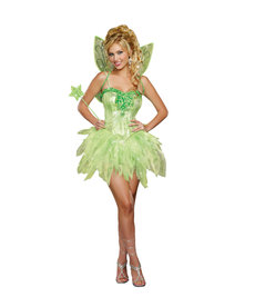 Dream Girl Women's Fairy-Licious Costume