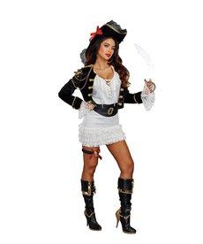 Dream Girl Women's Holy Ship! Costume
