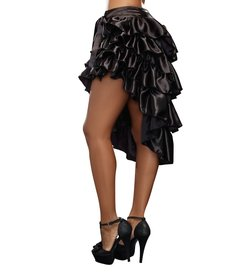 Dream Girl Adult Ruffled Black Skirt