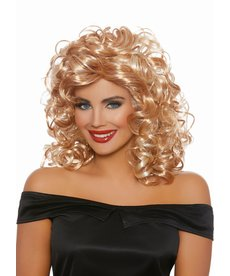 Dream Girl 50's Sandy Blonde/Honey Brown Wig