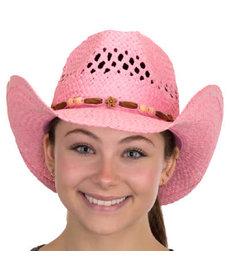 TOYO Ladies Western Hat: Pink