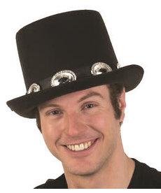 Rocker Top Hat w/ Buckles