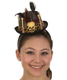 Mini Voodoo Doctor Top Hat Headband