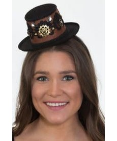 Mini Steampunk Top Hat w/ Headband