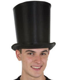 Satin Tall Top Hat