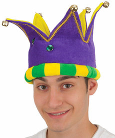 Mardi Gras Hat w/ Bells