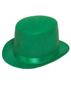 Felt Top Hat: Green