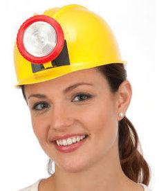 Miner Hard Hat w/ Light