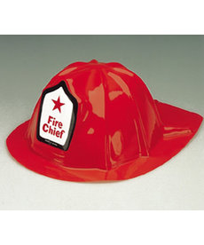 Economy Red Fire Chief Hat: Child