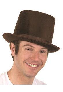 """6"""" Velvet Top Hat"""