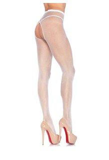 Leg Avenue Crotchless Fishnet Pantyhose