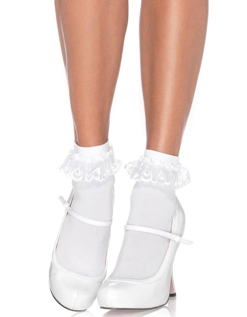 Leg Avenue Anklet w/ Lace Ruffle