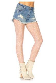 Leg Avenue Crocheted Lurex Shimmer Tights