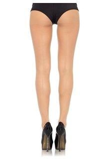 Leg Avenue Backseam Sheer Pantyhose - Nude