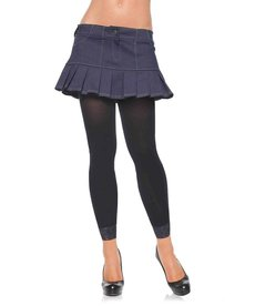 Leg Avenue Adult Opaque Footless Tights