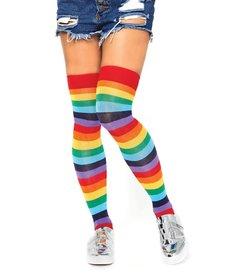 Leg Avenue Rainbow Thigh Highs
