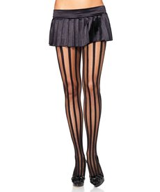 Leg Avenue Adult Vertical Stripe Tights