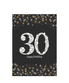 Rectangle Table Cover: Sparkling Celebration - 30th