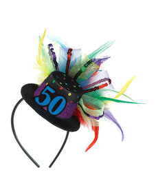 Top Hat Headband - 50th