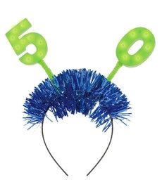 Light Up Headbopper - 50th Birthday
