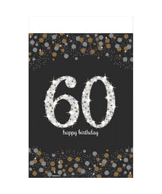 Rectangle Table Cover: Sparkling Celebration - 60th