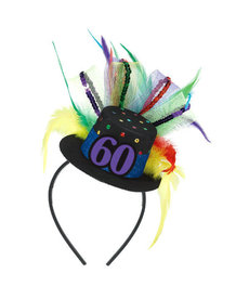 Top Hat Headband - 60th