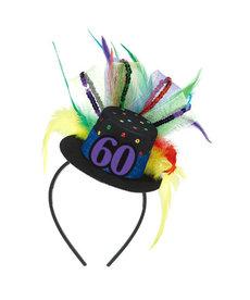 Top Hat Headband - 60th