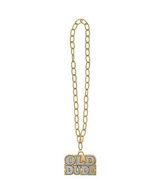 Old Dude Necklace - Gold