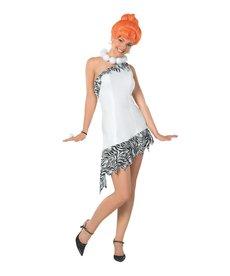 Rubies Costumes Women's Deluxe Wilma Flintstone Costume