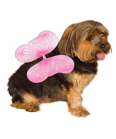 Rubies Costumes Fairy Wings (Pink): Pet Costume