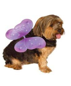 Rubies Costumes Fairy Wings (Purple): Pet Costume