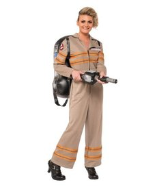 Rubies Costumes Women's Deluxe Ghostbuster Costume