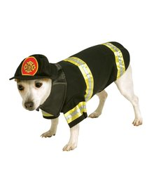 Rubies Costumes Fire Fighter: Pet Costume