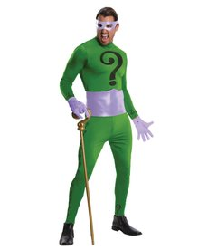 Rubies Costumes Grand Heritage: Adult Riddler Costume (1966)