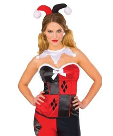 Rubies Costumes Women's Classic Harley Quinn Corset