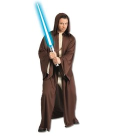 Rubies Costumes Adult Hooded Jedi Robe Costume