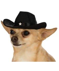 Rubies Costumes Pet Cowboy Hat (Black)