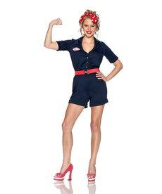 Rubies Costumes Women's Riveting Rosie Costume