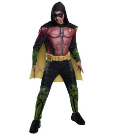 Rubies Costumes Men's Robin Costume with Muscle Chest