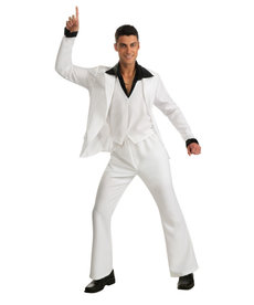 Rubies Costumes Men's Saturday Night Fever White Suit Costume