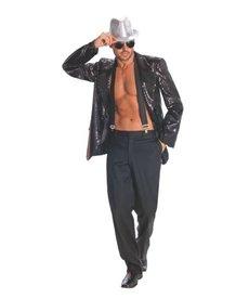 Rubies Costumes Men's Black Sequin Jacket