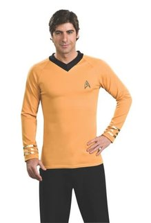 Rubies Costumes Men's Star Trek Classic Deluxe Captain Kirk Shirt